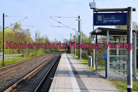 Eisenbahn Rülzheim - Bahnhaltepunkt Rülzheim Freizeitzentrum - Bahnanlage