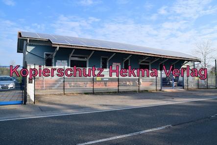 Eisenbahn Rülzheim - Bahnhof Rülzheim - Altes Gebäude der Güterabfertigung