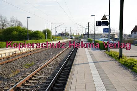 Eisenbahn Rülzheim - Bahnhof Rülzheim - Bahnsteige