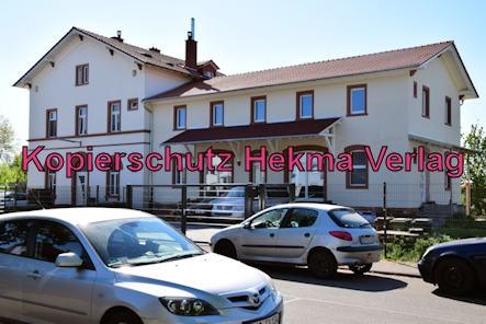 Landau-Germersheim - Untere Queichtalbahn - Bahnhof Lustadt - Altes Bahnhofsgebäude Lustadt
