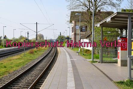 Eisenbahn Bellheim - Bahnhof Bellheim - Bahnsteig
