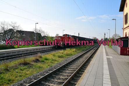 Eisenbahn Bellheim - Bahnhof Bellheim - Bahnanlage