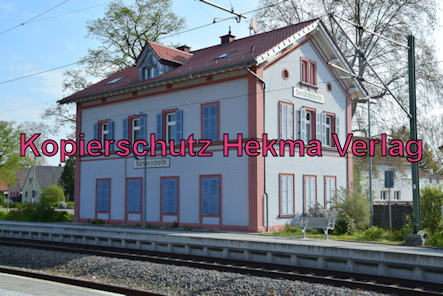 Eisenbahn Sondernheim - Bahnhof Sondernheim - Altes Bahnhofsgebäude