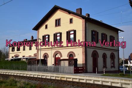 Eisenbahn Bellheim - Bahnhof Bellheim - Altes Bahnhofsgebäude