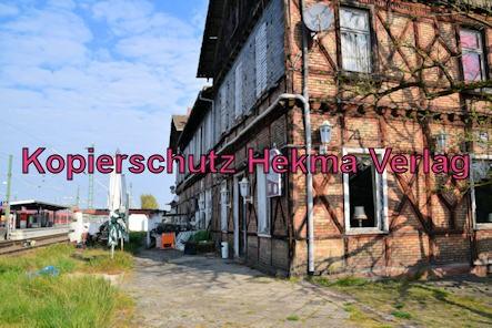 Germersheim Eisenbahn - Bahnhof Germersheim - Altes Bahnhofsgebäude