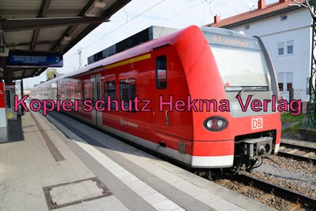 Germersheim Eisenbahn - Bahnhof Germersheim - Zug 425 224-3