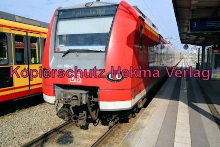 Germersheim Eisenbahn - Bahnhof Germersheim - Zug 425 088-2