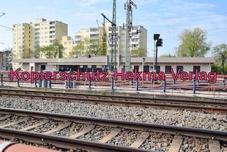 Germersheim Eisenbahn - Bahnhof Germersheim - Neues Bahnhofsgebäude