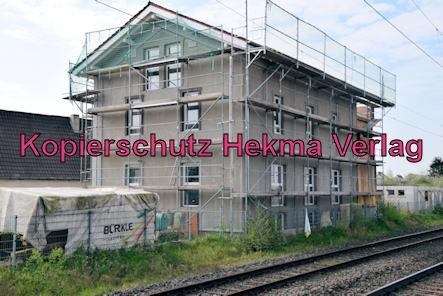 Heiligensten Eisenbahn - Bahnhaltepunkt Heiligenstein - Altes Bahnhofsgebäude im Umbau zum Wohnhaus