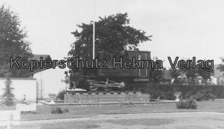Bahnhof Bruchhausen-Vilsen - Lok Bruchhausen