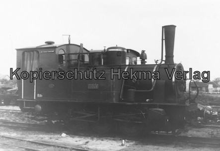 Bahnhof Bruchhausen-Vilsen - Lok Hoya