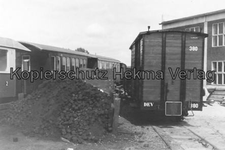Bahnhof Bruchhausen-Vilsen - Personen- und Güterwagen