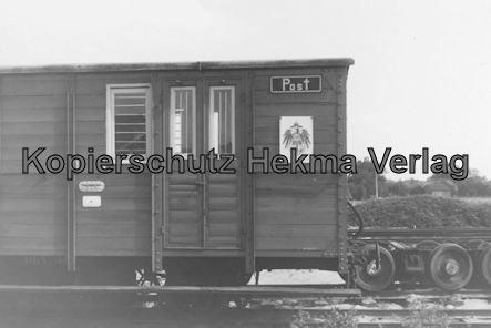 Bahnhof Bruchhausen-Vilsen - Postwagen