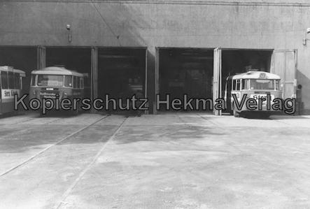 Extertalbahn - Bösingfeld - Betriebsbahnhof Wagenhalle
