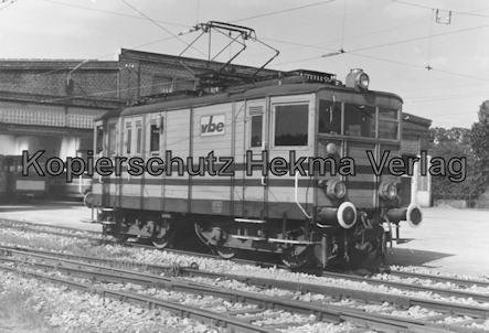 Extertalbahn - Bösingfeld - Betriebsbahnhof Wagenhalle - E-Lok (Eigenbau)