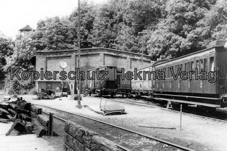 VVM - Verein Verkehrsamateure und Museumsbahn e.V. - Wagenhalle und Personenwagen