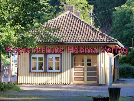 Kuckucksbähnel - Neustadt-Elmstein - Elmstein Bahnhof - Altes Bahnhofsgebäude