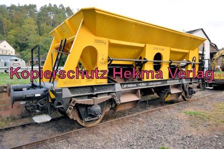 Kuckucksbähnel - Neustadt-Elmstein - Erfenstein Bahnhof - Leitungswagen 127106 Fc 089