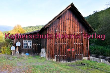 Kuckucksbähnel - Neustadt-Elmstein - Elmstein Bahnhof - Lokschuppen