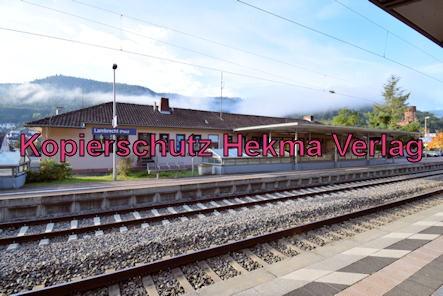 Kuckucksbähnel - Neustadt-Elmstein - Lambrecht Bahnhof - Bahnhofsgebäude